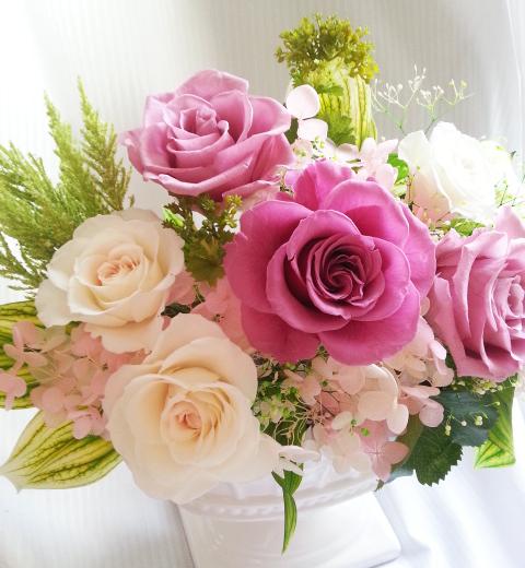 お花は常に貴女に寄り添っています