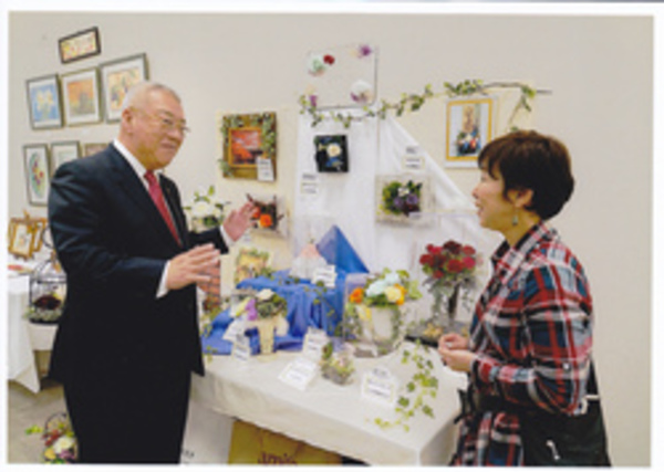 木津市長と記念撮影