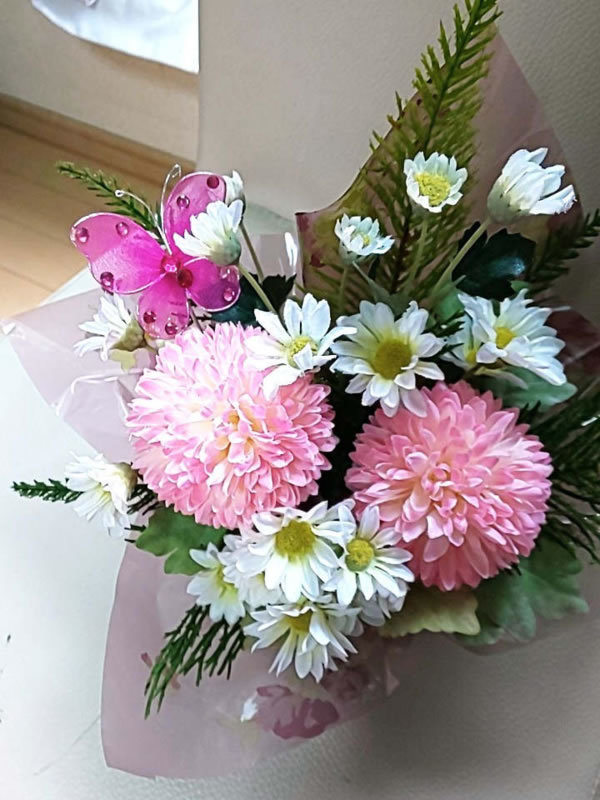 お好きなお花をチョイスしてのサムネイル